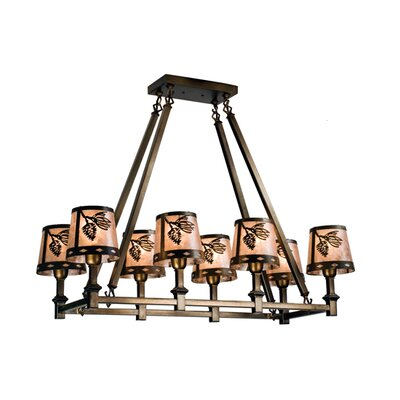 8-Light Kitchen Island Pendant