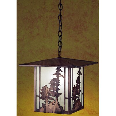 Tall Pines 1-Light Foyer/Lantern Pendant