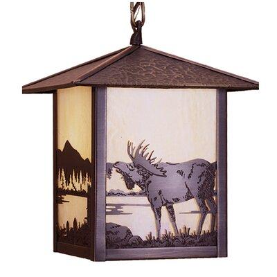 Seneca Moose at Lake 1-Light Mini Pendant