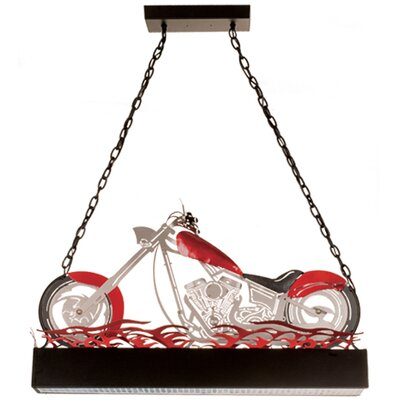 Motorcycle 2-Light Pendant