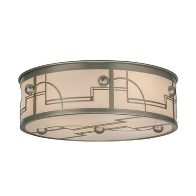 Revival Deco 4-Light Flush Mount