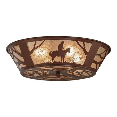 Cowboy 4-Light Flush Mount