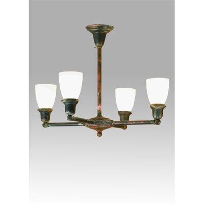 Revival Oyster Bay Goblet 4-Light Shaded Chandelier