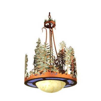 Forest 1-Light Inverted Pendant