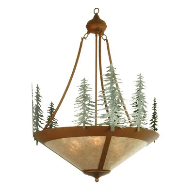 Tall Pines 3-Light Inverted Pendant