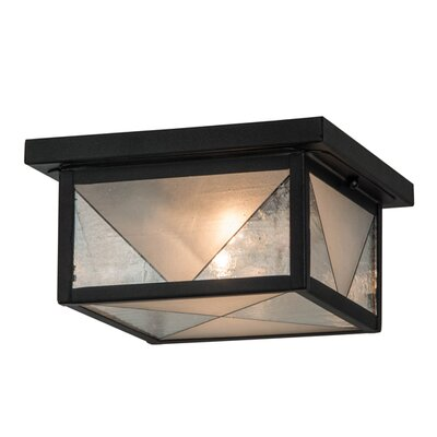 Harlequin 2-Light Flush Mount
