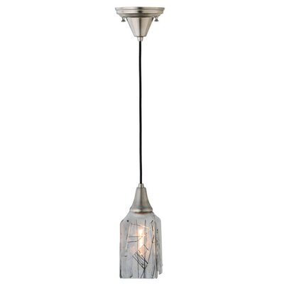 Metro Fusion Licorice Draped 1-Light Mini Pendant