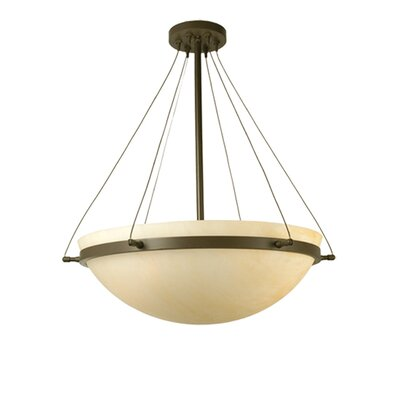 Locus 3-Light Semi-Flush Mount