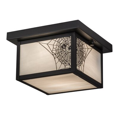 Hyde Park Spider Web 1-Light Flush Mount