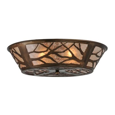 Branches 4-Light Flush Mount