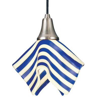 Metro Fusion Slick Handkerchief 1-Light Mini Pendant