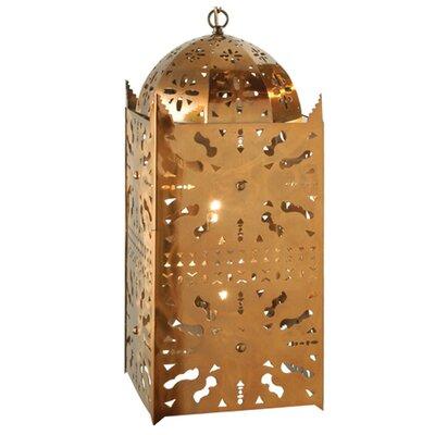 Moroccan 2-Light Mini Pendant Size: 28.5 - 172.50 H x 10 W x 10 D