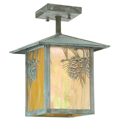 Seneca Winter Pine 1-Light Mini Pendant