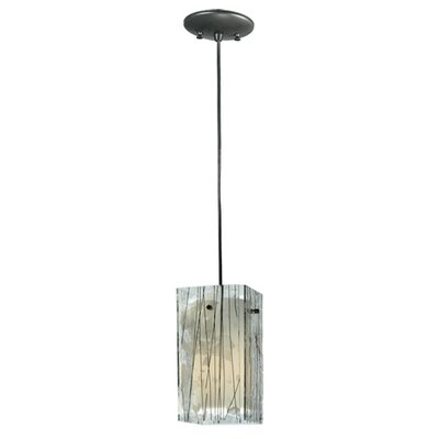 Metro Fusion Branches Quadrato 1-Light Mini Pendant