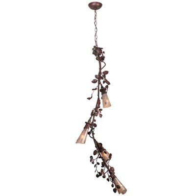 Vinca Vine 4-Light Chandelier