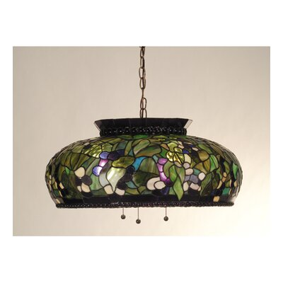 Grape 3-Light Bowl Pendant