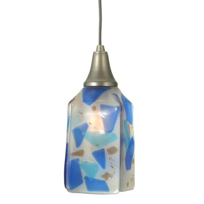 Metro Fusion Ciel Cadente Draped 1-Light Mini Pendant