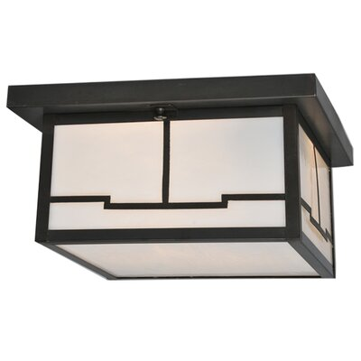 Hyde Park Valley View 2-Light Flush Mount
