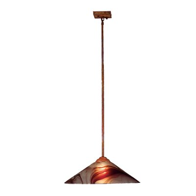 Chambord Swirl 1-Light Mini Pendant
