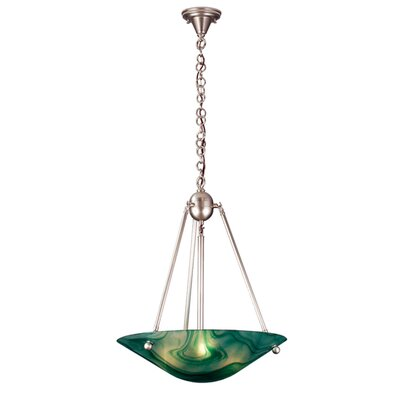 Deco Ball Mente Swirl 3-Light Inverted Bowl Pendant