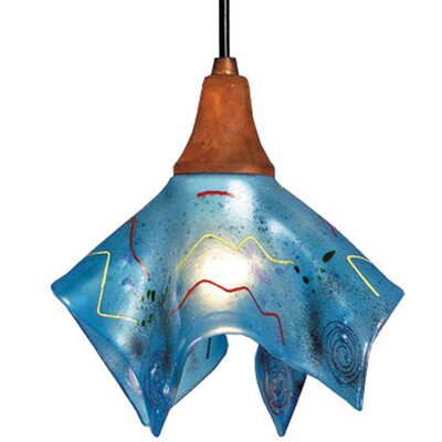 Metro Fusion Electra Handkerchief 1-Light Mini Pendant