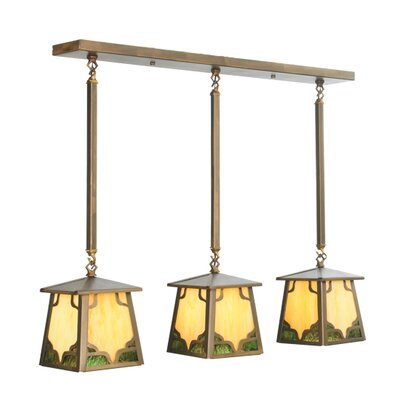 Kirkpatrick 3-Light Kitchen Island Pendant