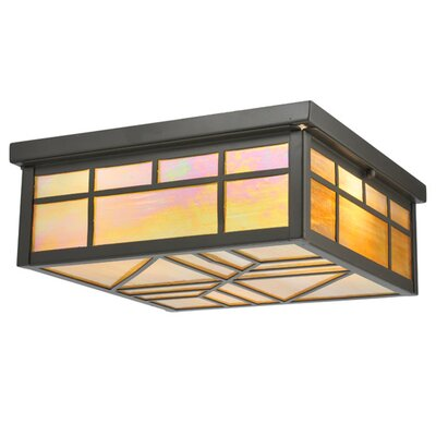 Santa Fe 4-Light Flush Mount
