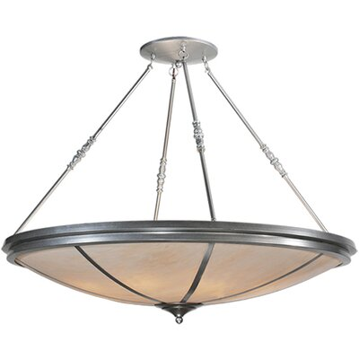 Commerce 8-Light Semi-Flush Mount