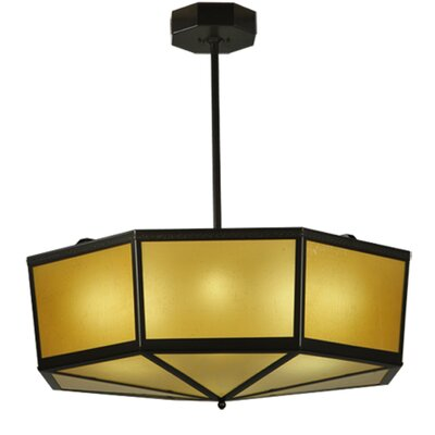 Eltham 4-Light Semi-Flush Mount