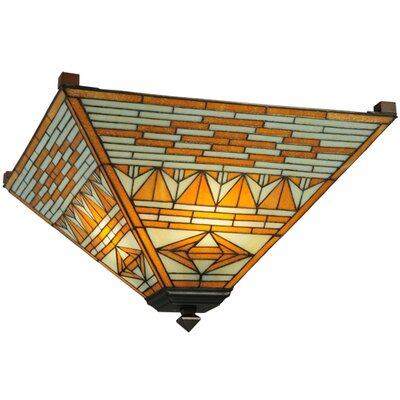 Valencia Mission 4-Light Flush Mount