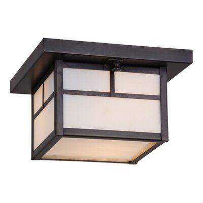 Hyde Park T Mission 1-Light Flush Mount