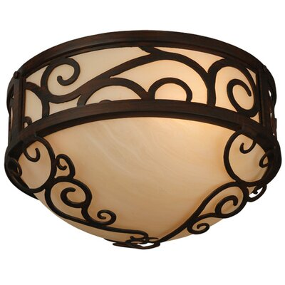 Lilliana 3-Light Flush Mount
