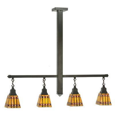 Prairie Corn 4-Light Kitchen Island Pendant