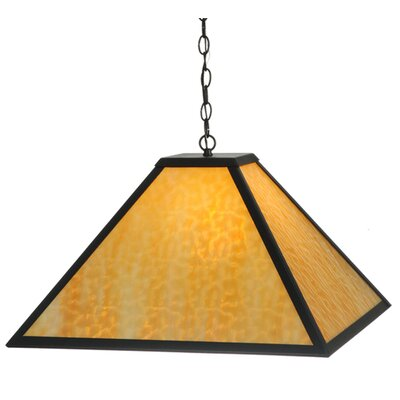 Gustav Mission 1-Light Geometric Pendant
