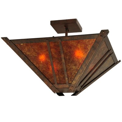 Arta 4-Light Semi-Flush Mount