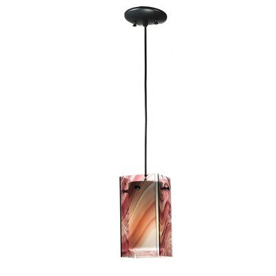 Metro Swirl Quadrato 1-Light Mini Pendant