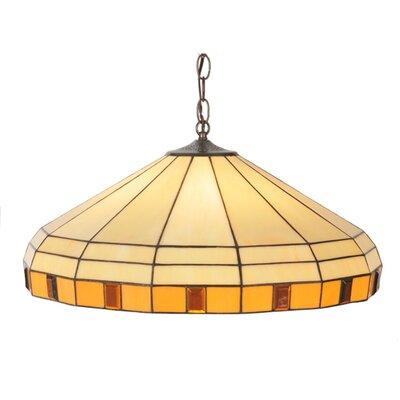 Banded Jewel 3-Light Bowl Pendant