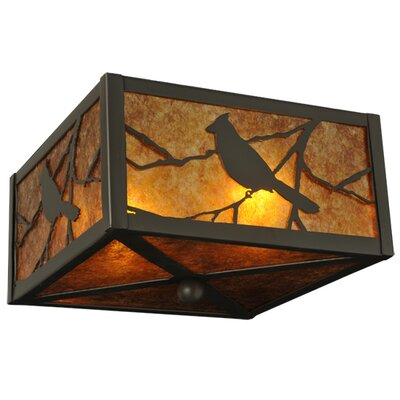 Songbird 2-Light Flush Mount