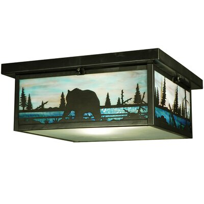 Bear Creek 2-Light Flush Mount