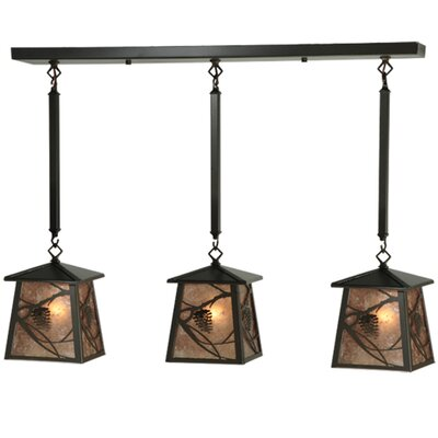 Whispering Pines 3-Light Kitchen Island Pendant