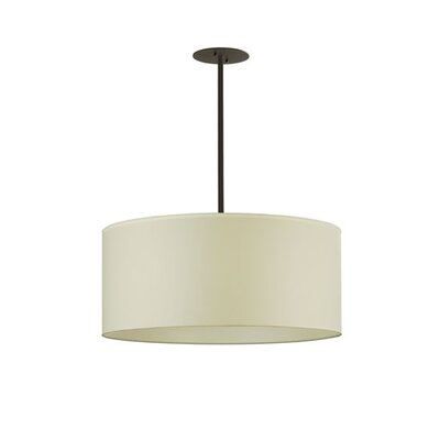 Cilindro Textrene 6-Light Drum Pendant