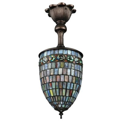 Turtleback 1-Light Pendant
