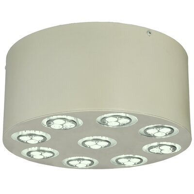 Discovery LED 9-Light Flush Mount