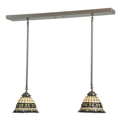 Roman 2-Light Kitchen Island Pendant