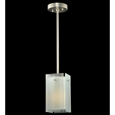 Metro Reeded Quadrato 1-Light Mini Pendant