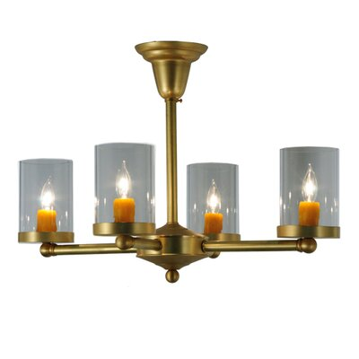 Bakersfield 4-Light Semi Flush Mount