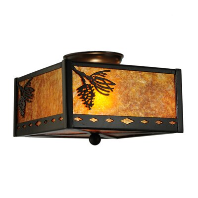 Balsam Pine 2-Light Flush Mount