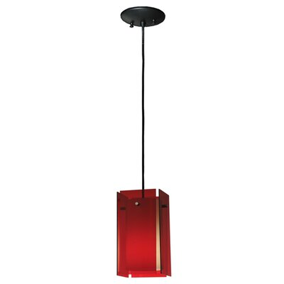 Metro Quadrato Acrylic 1-Light Mini Pendant