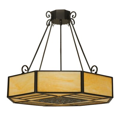 Lakeside 4-Light Semi Flush Mount Size: 30 H x 32.25 W x 32.25 D