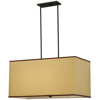 Charisma Fabric 4-Light Mini Pendant